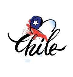 logo Chile vector image vector image