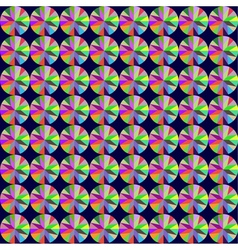 seamless background with geometric pattern of roun vector image vector image