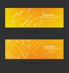 abstract gold header vector image