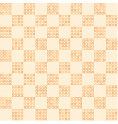 Cross-stitched pattern seamless vector