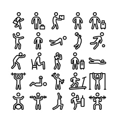 Pictograms icons 2 vector