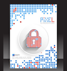 Pixel protection concept vector