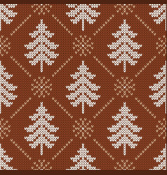scandinavian with snowflakes and christmas vector image