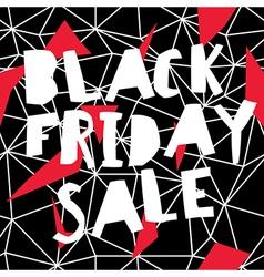 Big Sale Black Friday Sale Poster vector image vector image