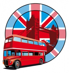 English style vector image