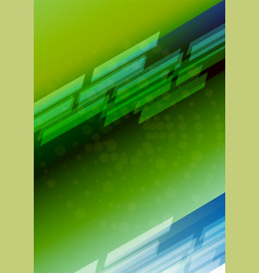 colourful background design a flyer brochure vector image