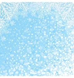 Snowflakes Backdrop vector image