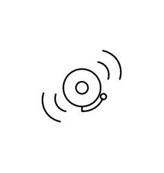 school ring icon vector image