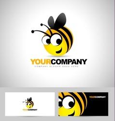 Bee Logo Design Concept vector