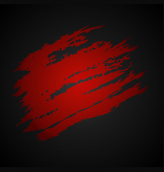 dark red scratch vector image vector image