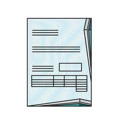 Document contract official vector