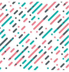 Parallel diagonal overlapping color lines pattern vector