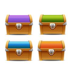 Treasure chest 04 vector