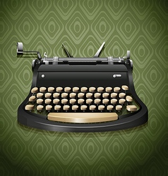 Vintage design of typewriter vector