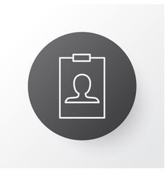 badge icon symbol premium quality isolated vector image vector image