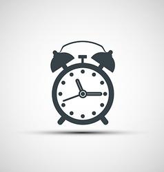 icons alarm clock vector image
