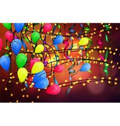 concept background birthday celebration vector image vector image