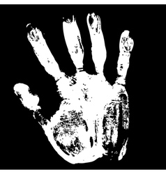 grunge print vector image vector image