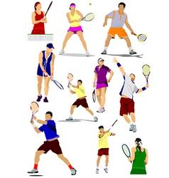Al 0450 tennis vector