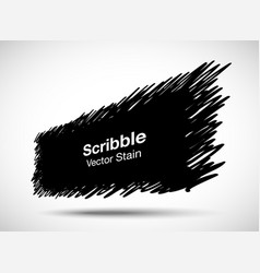 hand drawn scribble pencil rectangle shape sale vector image