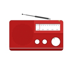 Radio Set vector image