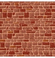 Stone wall vector