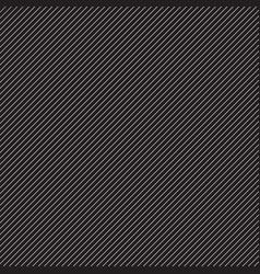 Thin white diagonal stripes on black vector