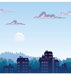 City by Morning vector image