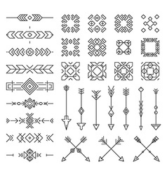 Tribal design elements vector