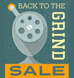 back to school sale banner poster design vector image vector image