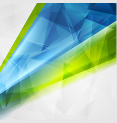 abstract technical bright polygonal background vector image