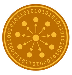 Bang expanse digital coin vector