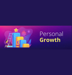 Business ambition concept banner header vector