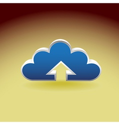 Cloud vector image
