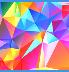 colorful geometric pattern mosaic background vector image