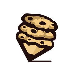 Cookie art vector