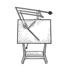 Drawing board sketch vector