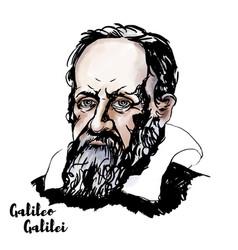 Galileo galilei vector