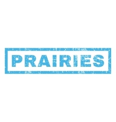 Prairies Rubber Stamp vector