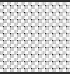 seamless geometric pattern of striped squares abd vector image