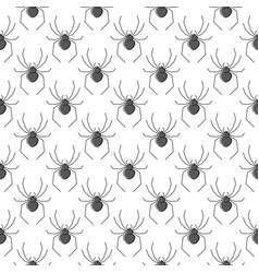 Spiders seamless pattern for textile design vector
