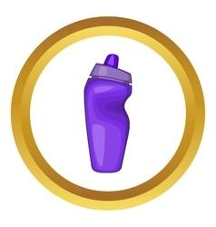 Sport bottle icon vector