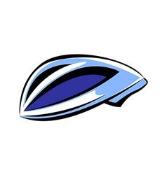 A helmet vector image vector image