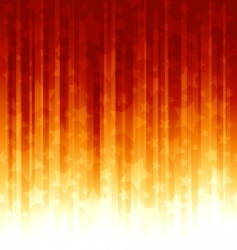 red orange stripes with overla vector image vector image