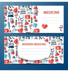 Design template for medical icon vector image