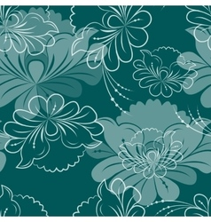 Seamless background pattern for cushion vector image