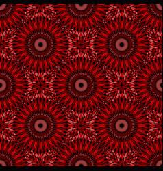 Geometrical oriental gemstone mandala pattern vector