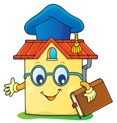 Home schooling theme image 4 vector