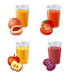 Juices vector