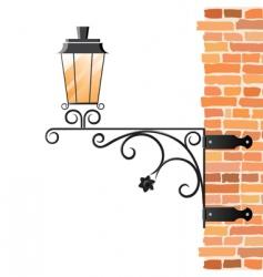 lantern vector image